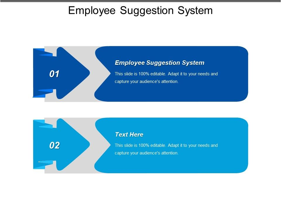Employee Suggestion System Ppt Powerpoint Presentation Gallery