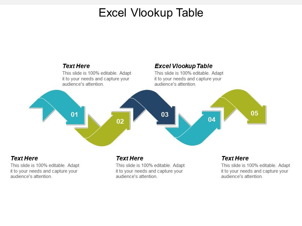 Excel Vlookup Table Ppt Powerpoint Presentation Gallery Designs