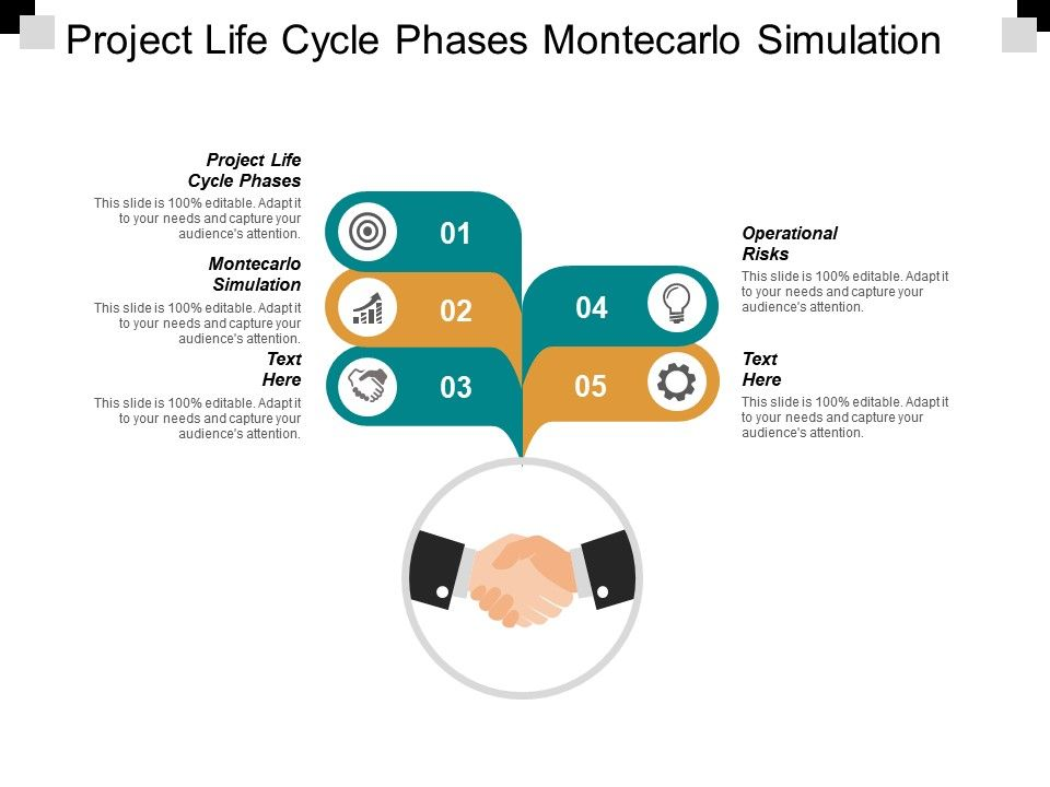 Project Life Cycle Phases Montecarlo Simulation Operational Risks