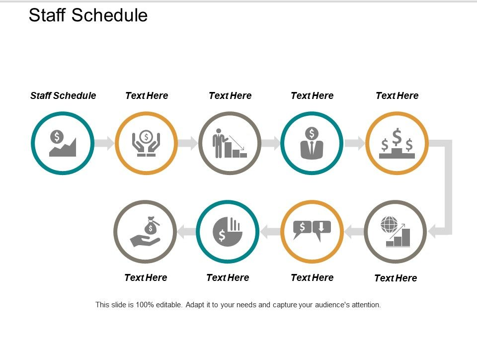 Staff Schedule Ppt Powerpoint Presentation Icon Graphics Download