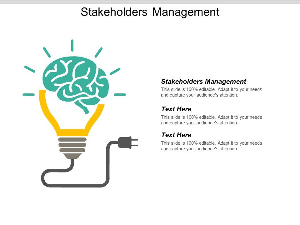 Stakeholders Management Ppt Powerpoint Presentation Gallery