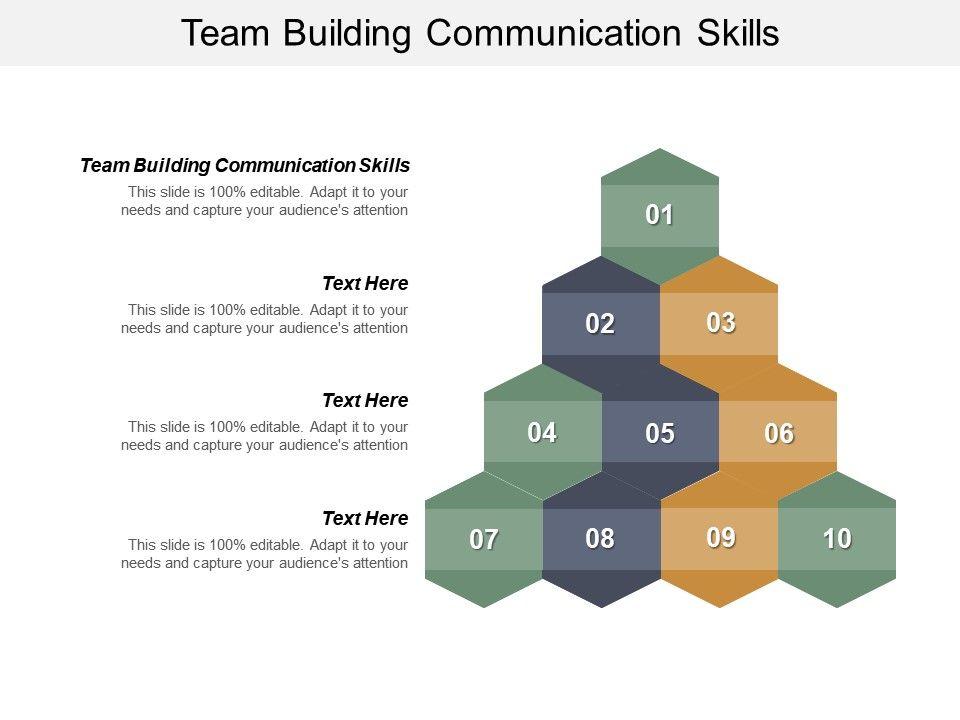 Team Building Communication Skills Ppt Powerpoint Presentation
