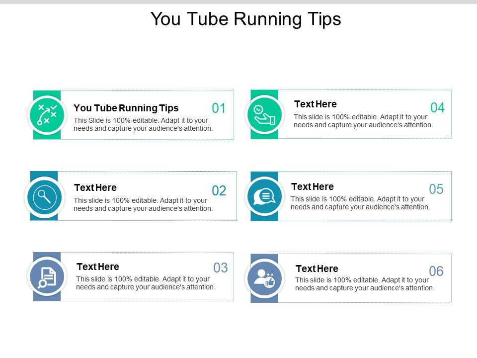 Youtube Running Tips Ppt Powerpoint Presentation Gallery Graphics