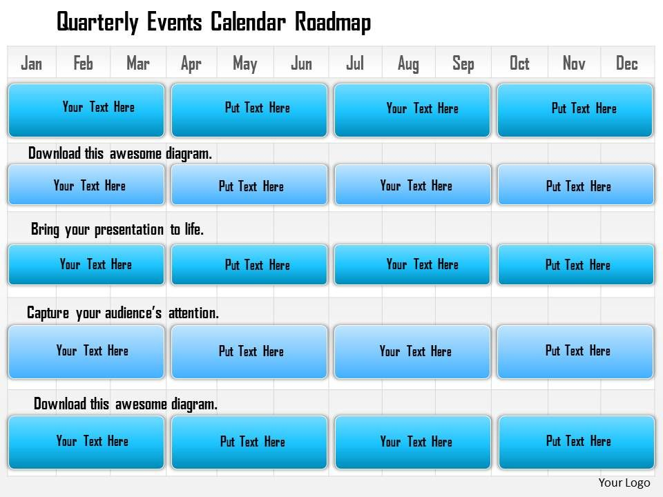 28217579 Style Essentials 1 Roadmap 1 Piece Powerpoint Presentation - sample power point calendar