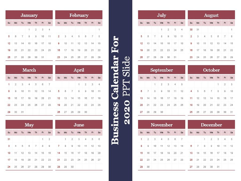 37783145 Style Variety 2 Calendar 1 Piece Powerpoint Presentation - sample power point calendar
