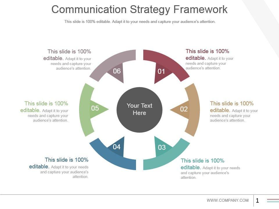 70428983 Style Circular Loop 6 Piece Powerpoint Presentation Diagram - communication strategy