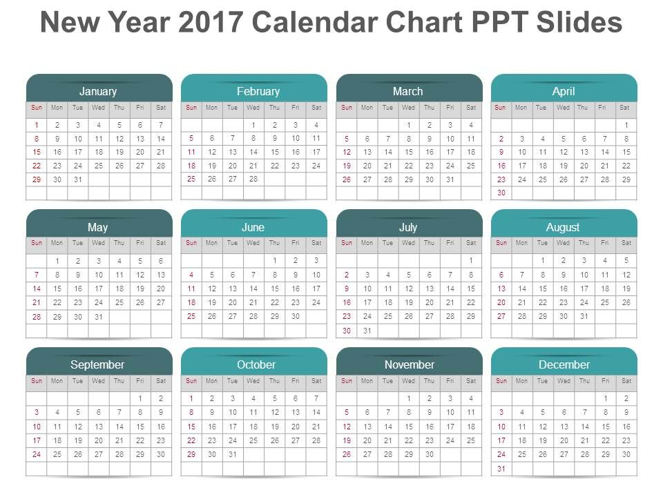 23271123 Style Variety 2 Calendar 1 Piece Powerpoint Presentation - sample power point calendar