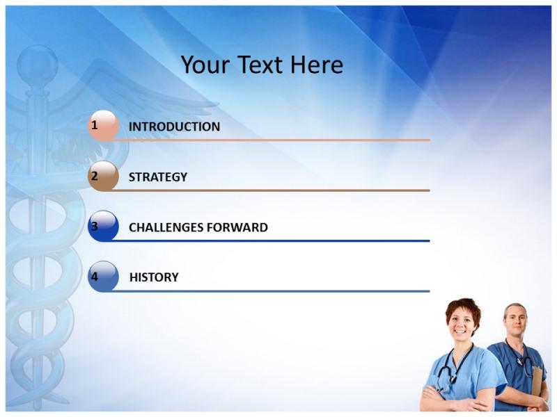 Nurse Powerpoint Templates Powerpoint Presentation on nurse