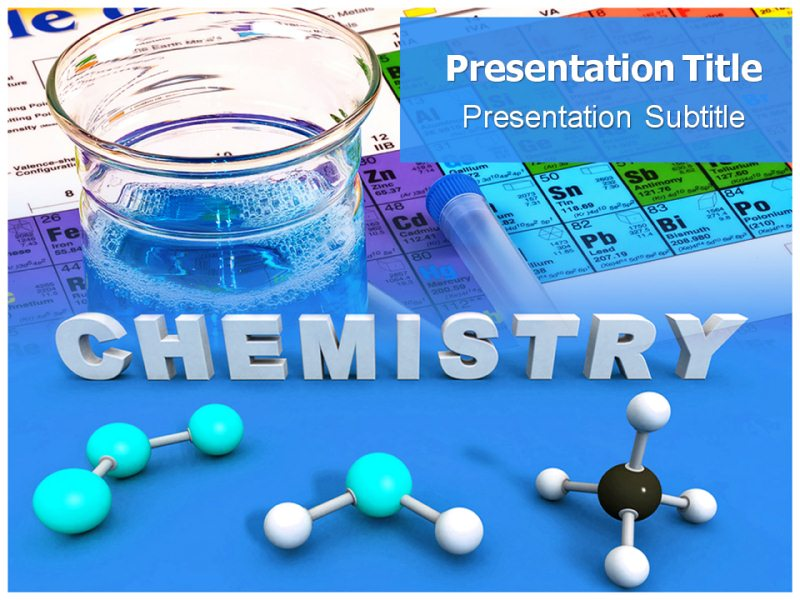 Presenting your ideas on Chemistry PowerPoint with Business PPT