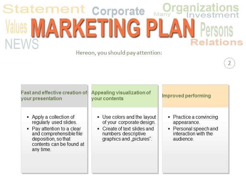 Marketing Plan PowerPoint (PPT) Template, Template PowerPoint