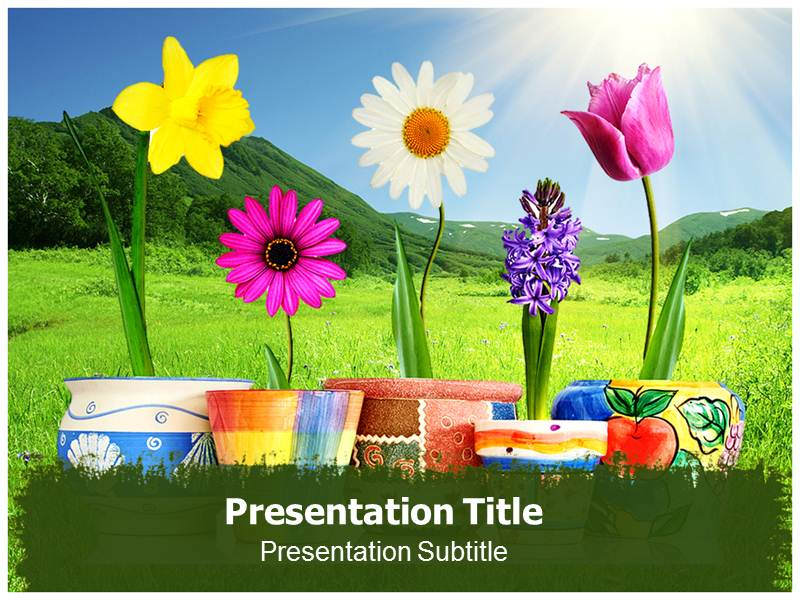 Plant Nutrition PowerPoint Template, PowerPoint Background