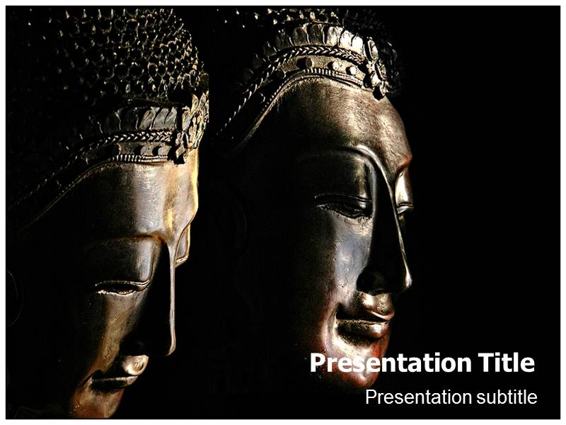 Buddhism Followers Powerpoint (PPT) Templates PPT Template on - buddhism powerpoint