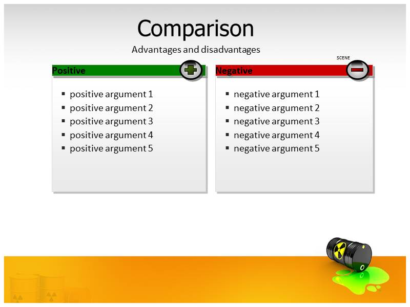 High Level Radioactive Waste Management PowerPoint Templates with - waste management ppt