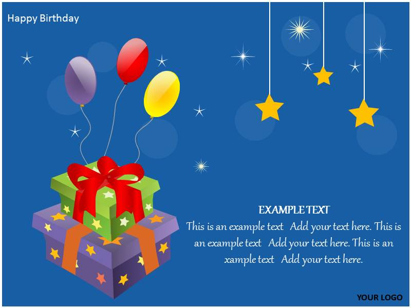 Happy Birthday Powerpoint Template Happy Birthday PPT Slides