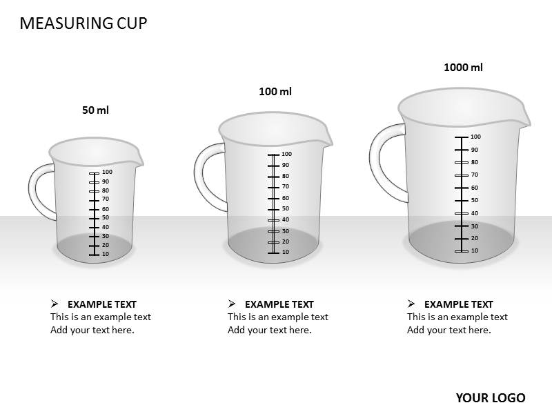 Measuring Cups PowerPoint Template Measuring Cups PPT slideworld