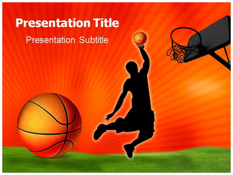 Basketball Powerpoint Templates Powerpoint Presentation on - basketball powerpoint template