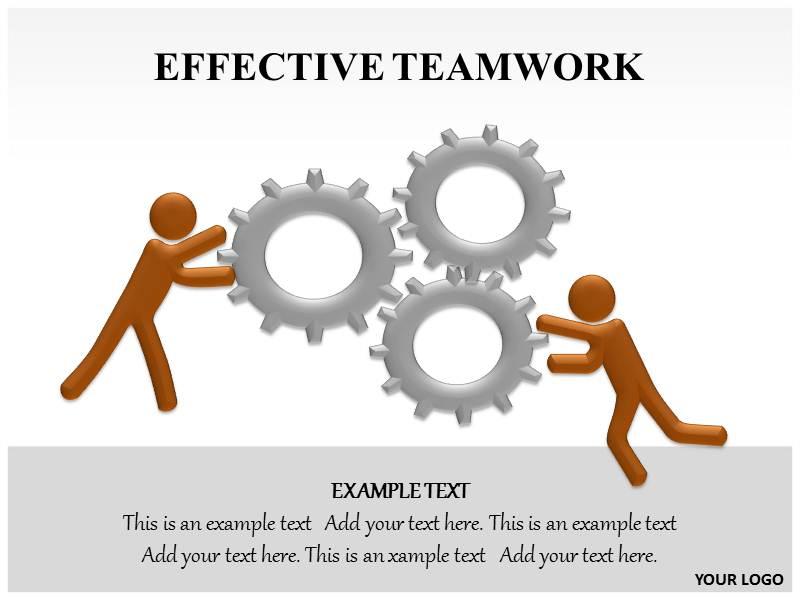 Effective Teamwork Powerpoint Template, Effective Teamwork PPT