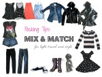 Packing Tips: Mix & Match for Light Travel and Style