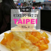 More gross, strange, and yummy things to eat in Taipei