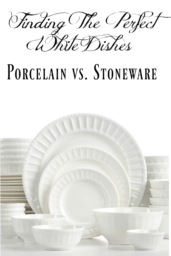 Picking Out The Perfect White Dishes