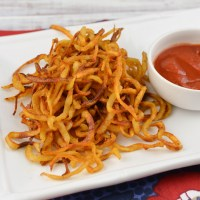 Syn Free Curly Fries