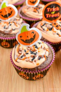 Cute Snapchat Wallpapers Orange And Chocolate Halloween Cupcakes Slimming World