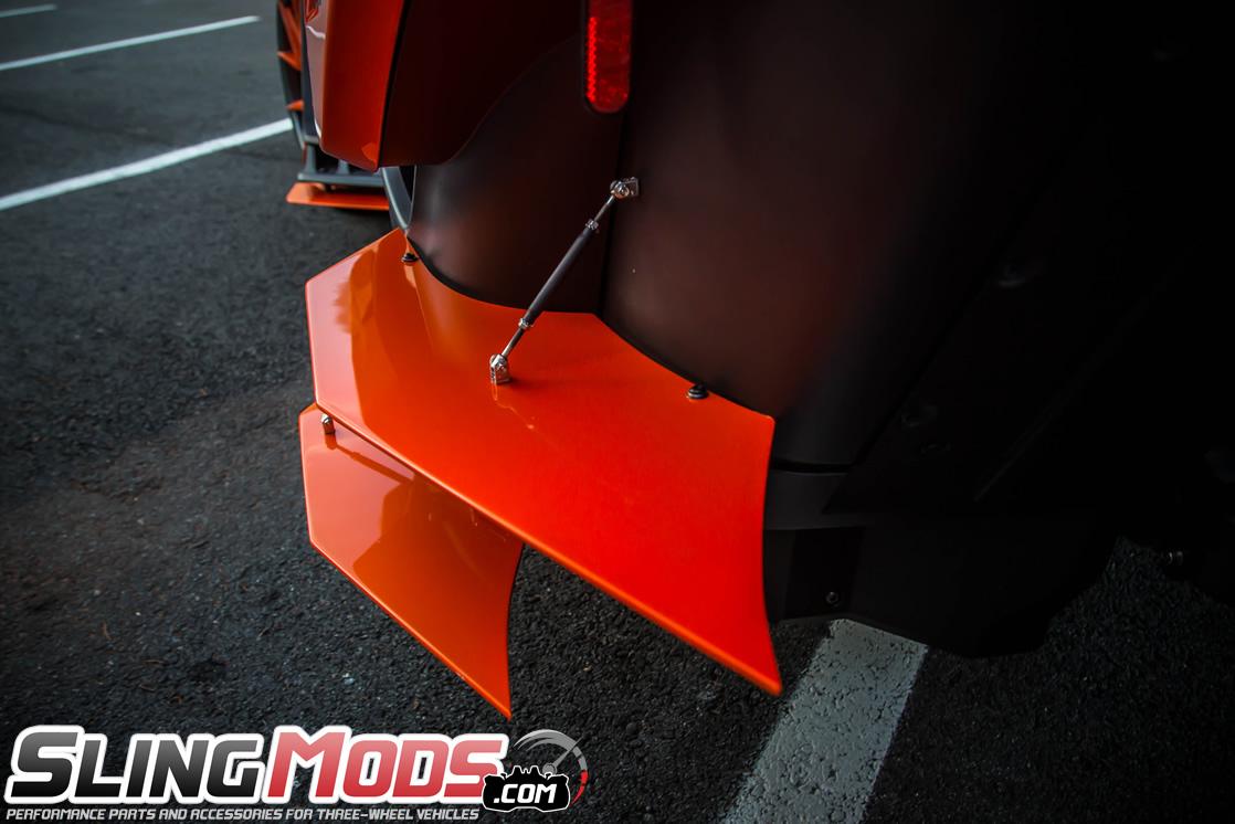 Polaris Slingshot 6 Piece Aero Splitter Kit By Metricks