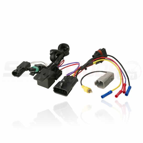 Polaris Slingshot Aftermarket Stereo Wiring Harness with OEM Backup