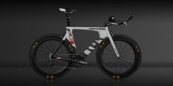 The newly re-designed P3, Cervelo TT Bike!