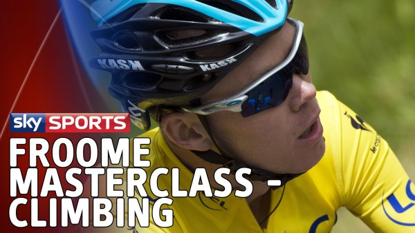 Chris Froome's Best Tips for Climbing