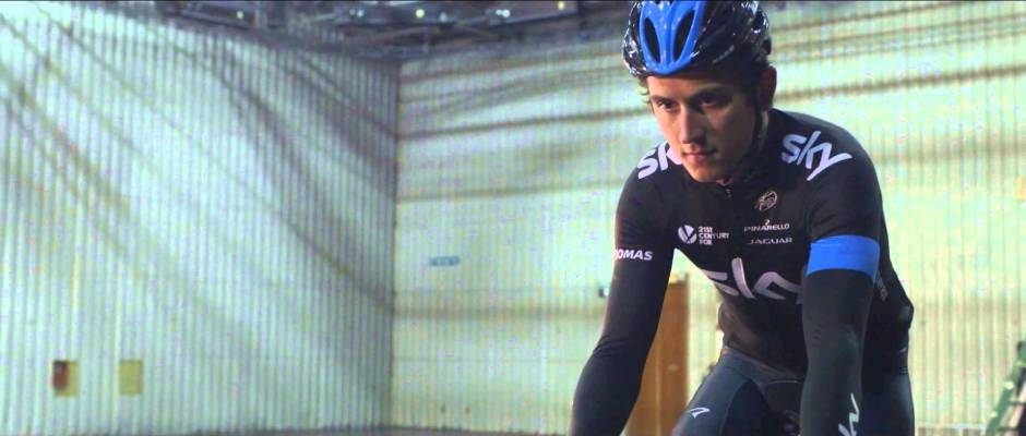 Oh What Fun It Is to Ride and Play Jingle Bells from Geraint Thomas & Team Sky
