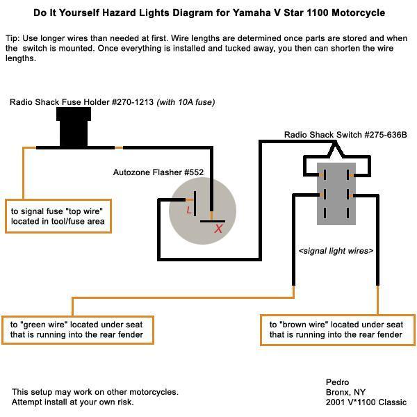 Fuse Box Yamaha V Star 1100 - Wiring Diagrams Folder Yamaha Xvs Wiring Diagram on