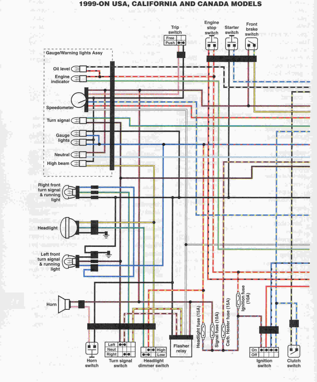 yamaha 1300 wiring diagram