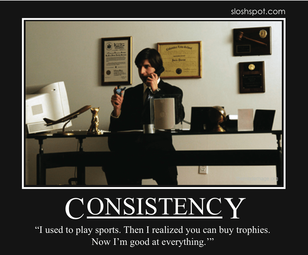 Consistency Quotes Wallpaper Demetri Martin Motivational Posters Page 4 Of 7 Beer