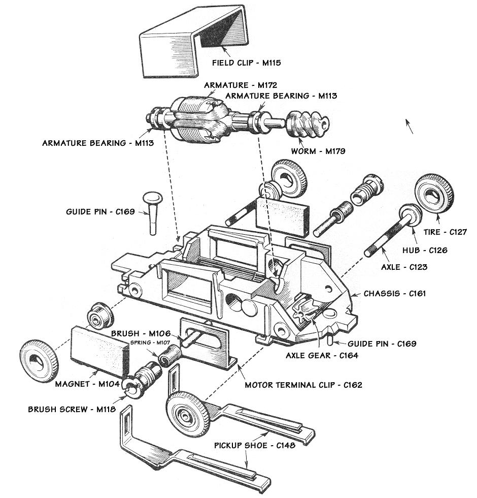 wiring ho slot car track