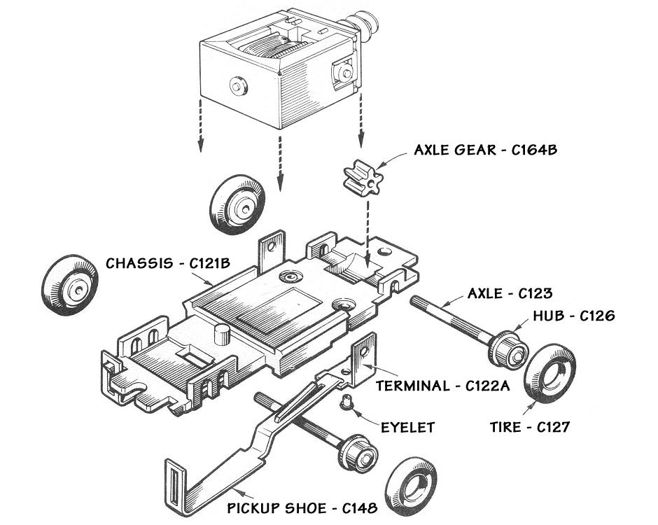 car axle schematic