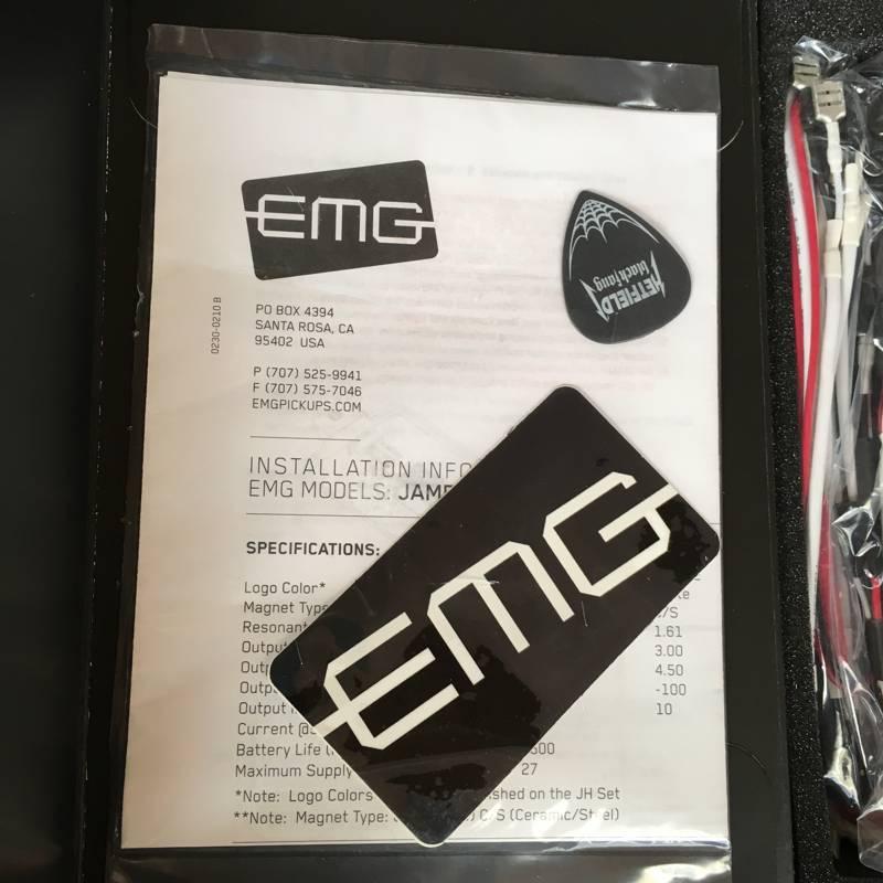 EMG Het Set Pickups - slothic