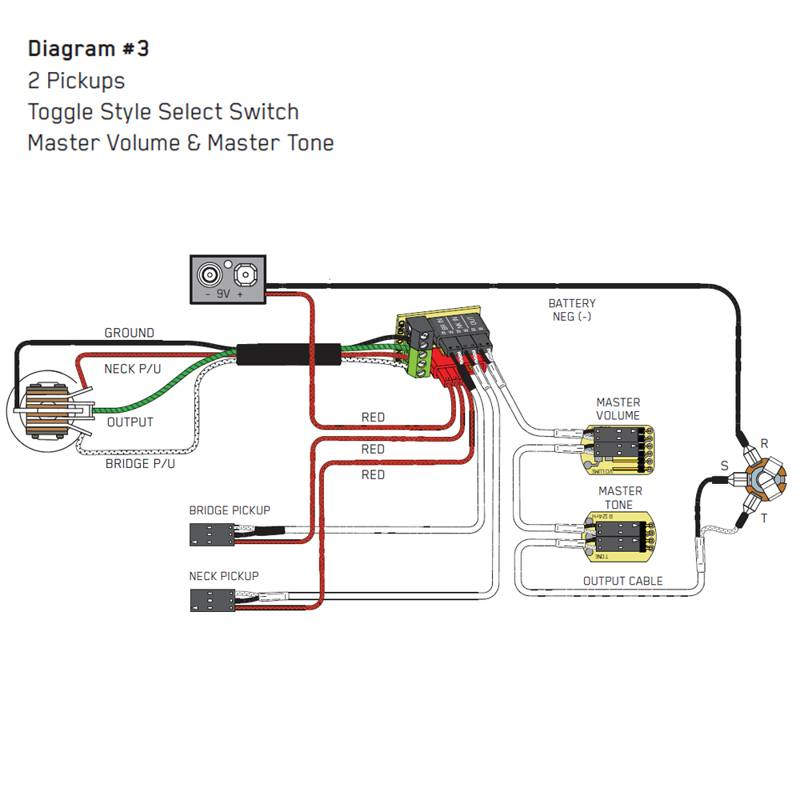guitar wiring diagram 1 pickup 1 volume