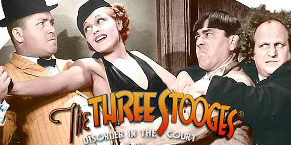 Lightning 3d Wallpaper The Three Stooges Disorder In The Court Free Slots