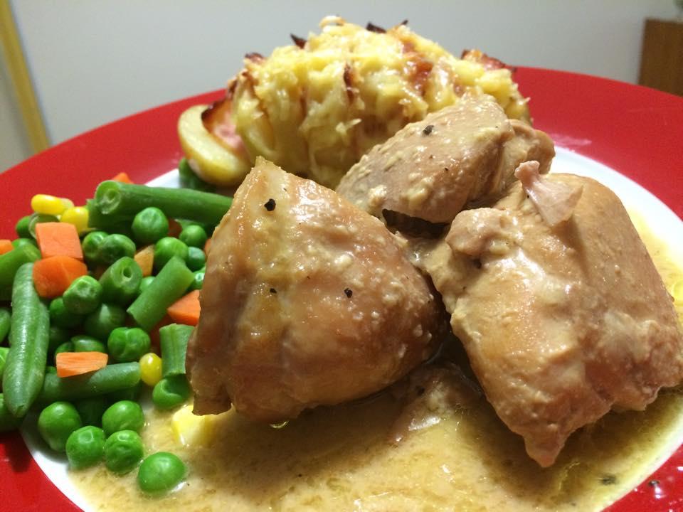 Mustard Maple Chicken |
