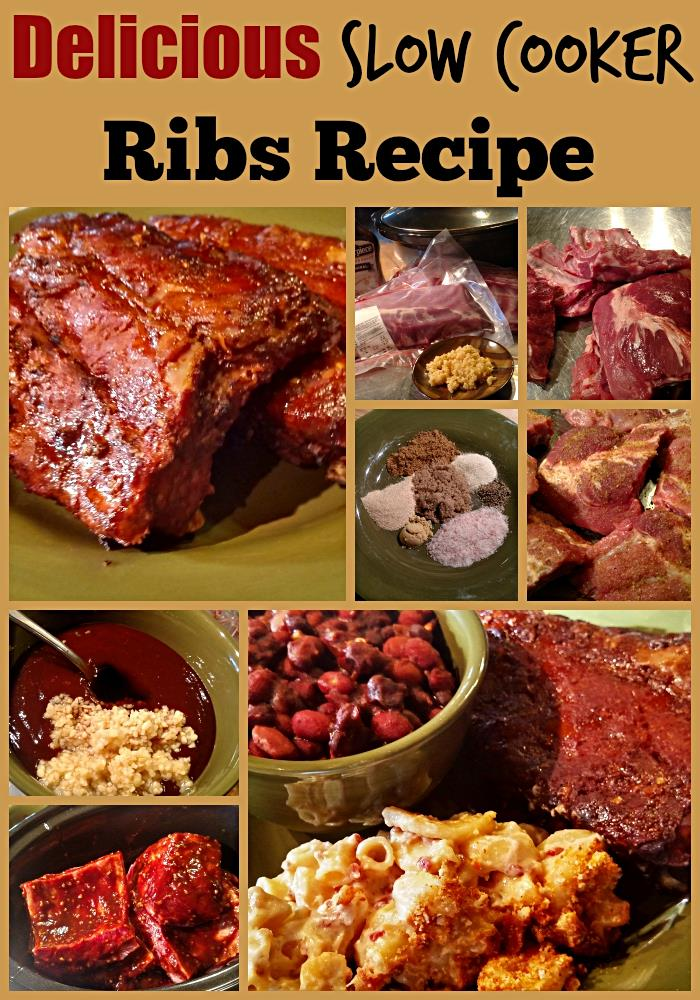 Yummy Baby Back Slow Cooker Ribs Recipe. Check out more of our delicious recipes at http://www.slowcookerkitchen.com