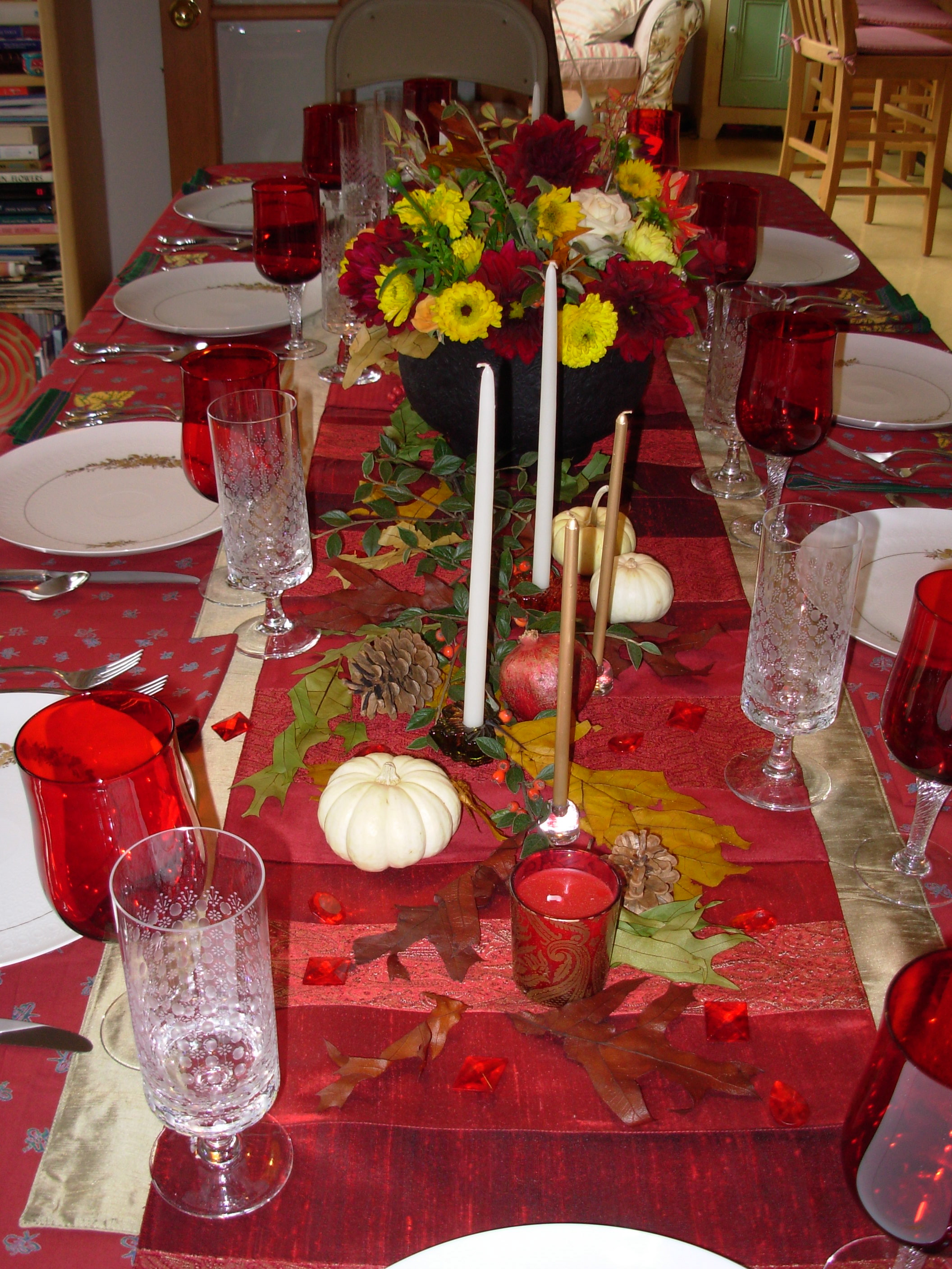 Decorating Ideas > Let Nature Decorate Your Holiday Table  Slow Family ~ 152917_Decorating Ideas For Church Christmas Party