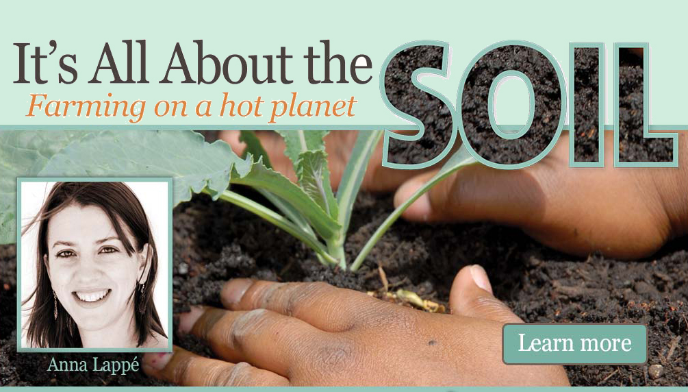 It's all about the Soil, with Anna Lappé