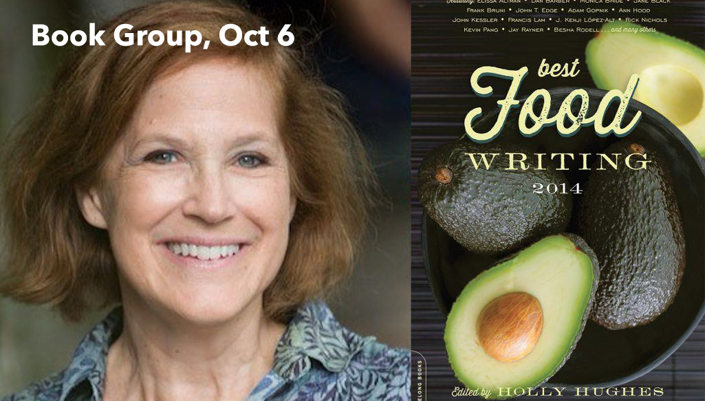 Book Group: Best Food Writing 2014 October 6 @ 7:00 pm - 9:00 pm