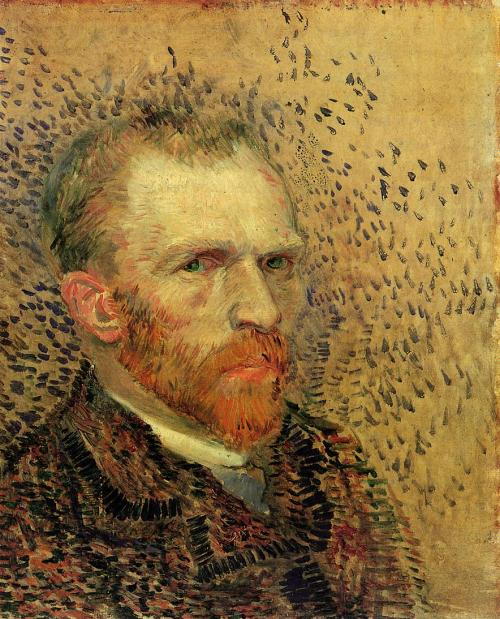 VincentVanGogh-Self-Portrait-II-1887