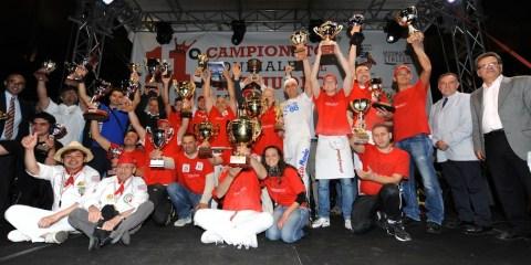 Podio XI Trofeo Caputo - foto Renato Olimpio