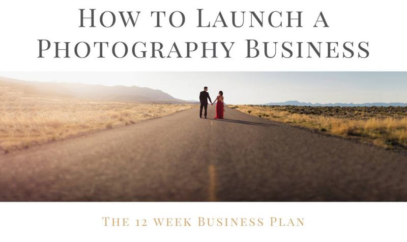 How to Launch a Photography Business by Pye Jirsa on CreativeLive - Photography Business Plan