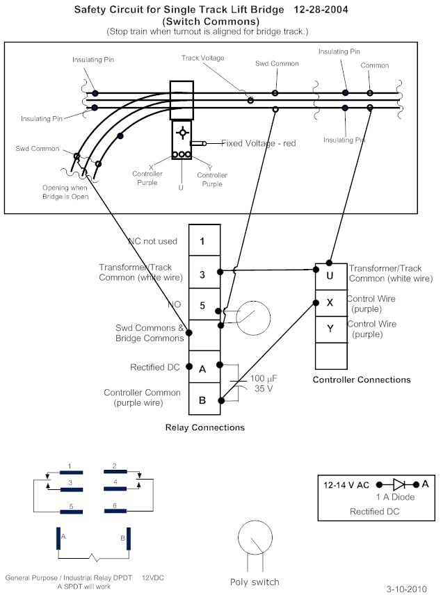 Lionel Switch Wiring Diagram Wiring Diagram