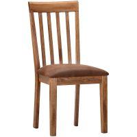 Slumberland Furniture | Sedona Rustic Oak Side Chair