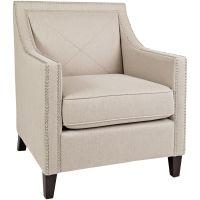 Slumberland Furniture | Princeton Taupe Accent Chair